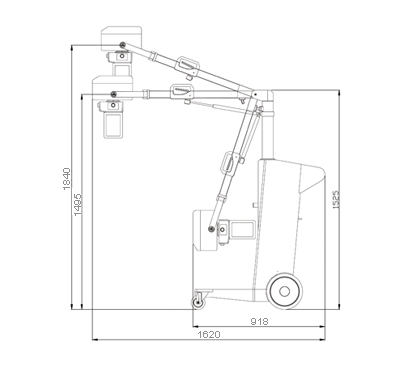 EPX-F2800 EcoTron - купить палатный рентгеновский аппарат